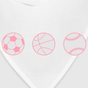 Baby Sports Fan Kids' Shirts - Bandana