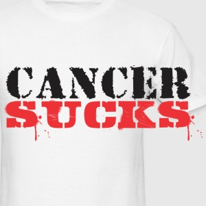 Cancer Sucks - Men's T-Shirt