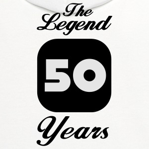 50 fiftieth birthday: The Legend 50 Years T-Shirts - Contrast Hoodie