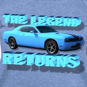 The Legend Returns - Women's Wideneck Sweatshirt