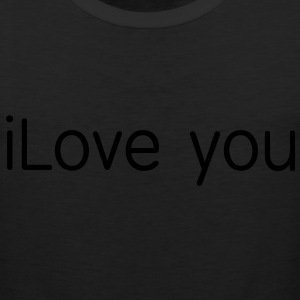i love you Hoodies - Men's Premium Tank