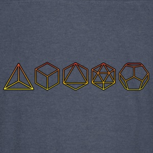 Platonic Solids  Hoodies - Vintage Sport T-Shirt