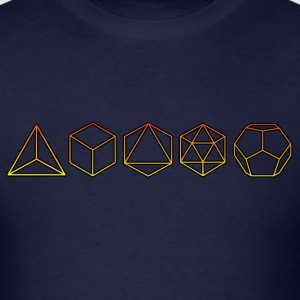 Platonic Solids  Hoodies - Men's T-Shirt