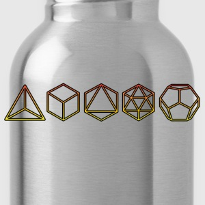 Platonic Solids  Hoodies - Water Bottle