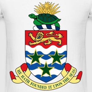 Crest Cayman Islands (dd)++ Long Sleeve Shirts - Men's T-Shirt