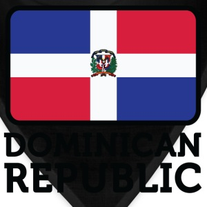 Flag Dominican Republic 2 (dd)++ Hoodies - Bandana