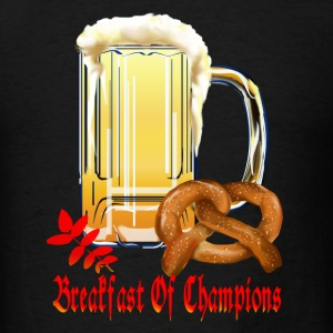 Breakfast Of Champions-Happy Oktoberfest! - Men's T-Shirt