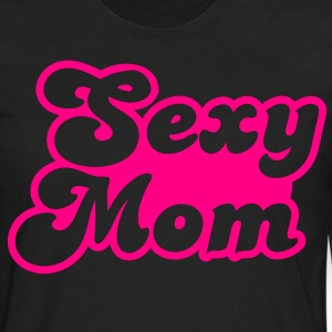 sexy mom mommy in hot pink T-Shirts - Men's Premium Long Sleeve T-Shirt
