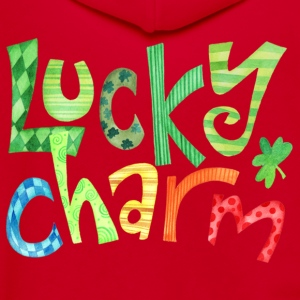Lucky Charm Women's T-Shirts - Unisex Fleece Zip Hoodie by American Apparel