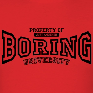 University of BORING Hoodies - Men's T-Shirt