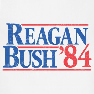 Reagan Bush '84 Vintage T-Shirt - Adjustable Apron