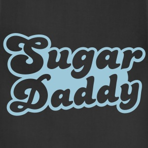 Sugar Daddy in cute font T-Shirts - Adjustable Apron