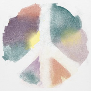 Watercolor Peace T-Shirts - Men's Premium Tank