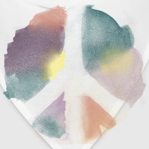 Watercolor Peace Women's T-Shirts - Bandana
