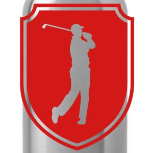 golfer emblem T-Shirts - Water Bottle