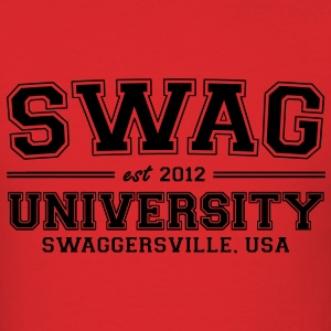 Swag University Hoodies - Men's T-Shirt