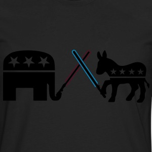Republican Democrat Jedi Hoodies - Men's Premium Long Sleeve T-Shirt
