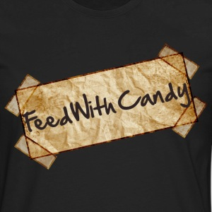 Feed With Candy - Men's Premium Long Sleeve T-Shirt
