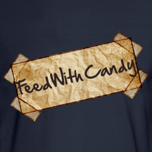 Feed With Candy - Men's Long Sleeve T-Shirt