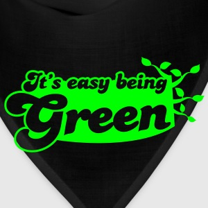 It's EASY being GREEN Hoodies - Bandana
