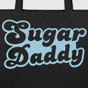Sugar Daddy in cute font Hoodies - Eco-Friendly Cotton Tote