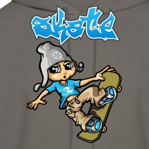 Skateboard and graffiti T-Shirts - Men's Hoodie
