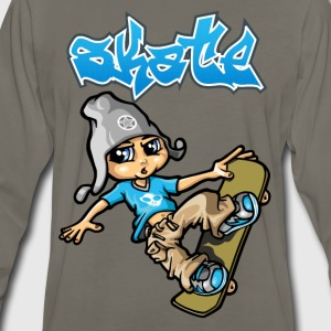 Skateboard and graffiti T-Shirts - Men's Premium Long Sleeve T-Shirt