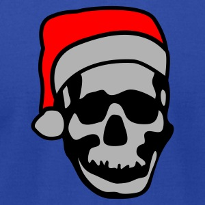 Christmaskull Hoodies - Men's T-Shirt by American Apparel