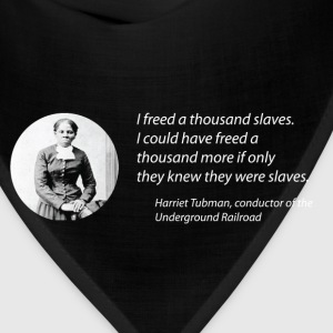 Harriet Tubman vs the Matrix Men's Tee - Bandana