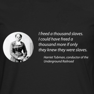Harriet Tubman vs the Matrix Women''s Tee - Men's Premium Long Sleeve T-Shirt