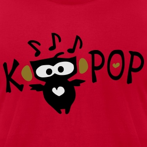 Love KPOP txt owl vector art Men's Crewneck Sweatshirt - Men's T-Shirt by American Apparel