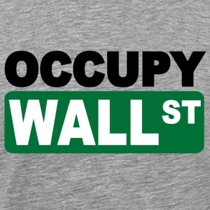 occupy wall st Long Sleeve Shirts - Men's Premium T-Shirt