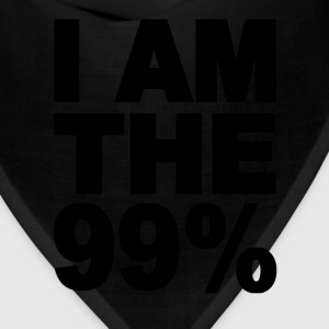 I am the 99% Occupy Wall St T-Shirts - Bandana