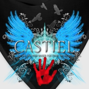 New Castiel 2 Im the one who raised you from predi T-Shirts - Bandana