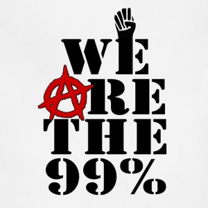 We Are The 99% Occupy Wall Street Hoodies - Adjustable Apron