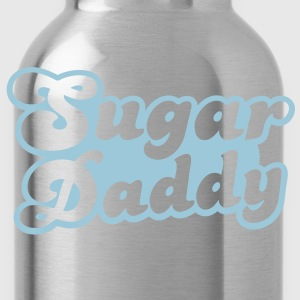 Sugar Daddy in cute font T-Shirts - Water Bottle