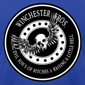 Winchester Bros Ring Patch Hoodies - Men's T-Shirt by American Apparel