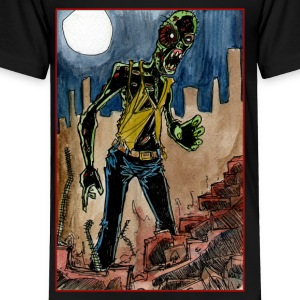 zombie in the ruins Kids' Shirts - Toddler Premium T-Shirt