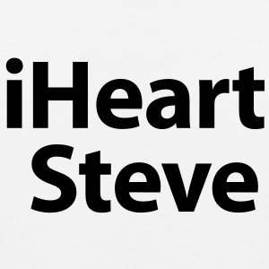 i heart Steve Kids' Shirts - Men's Premium Tank