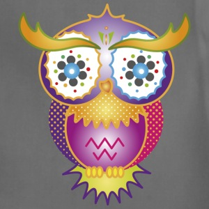 A psychedelic owl T-Shirts - Adjustable Apron