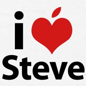 i love Steve Caps - Men's T-Shirt