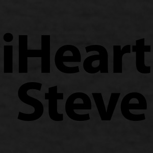 i heart Steve Caps - Men's T-Shirt