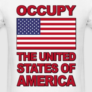 Occupy The United States of America Hoodies - Men's T-Shirt