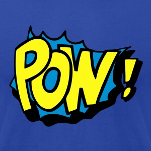 Pow! Tanks - Men's T-Shirt by American Apparel