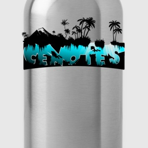 Scuba Dive Cenotes Women's T-Shirts - Water Bottle