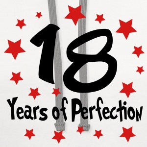 perfection_18 T-Shirts - Contrast Hoodie