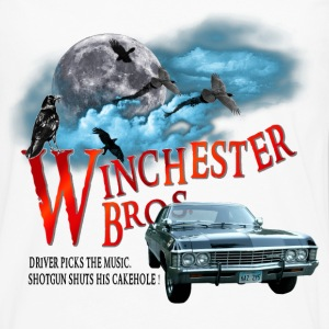 Winchester Bros Driver picks the music shotgun shu T-Shirts - Men's Premium Long Sleeve T-Shirt