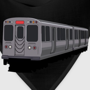 Red Line Chicago L Train Hoodie - Bandana