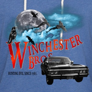 Winchester Bros Hunting Evil Since 1983 1967 chevr T-Shirts - Unisex Lightweight Terry Hoodie