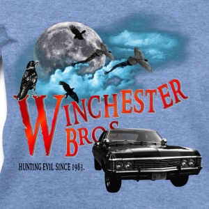 Winchester Bros Hunting Evil Since 1983 1967 chevr T-Shirts - Women's Wideneck Sweatshirt